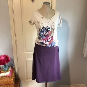 Eddie bauer lifestyle outfit skirt and top